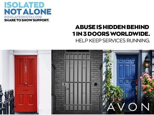 Avon domestic violence campaign