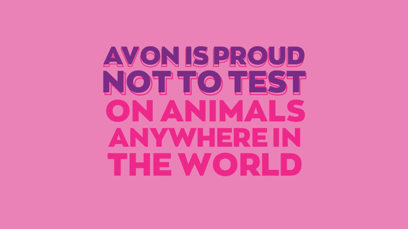Avon has ended all regulatory-required animal testing