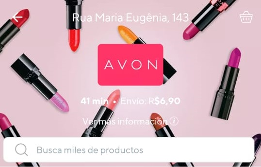 Avon launches two-hour delivery service in Brazil